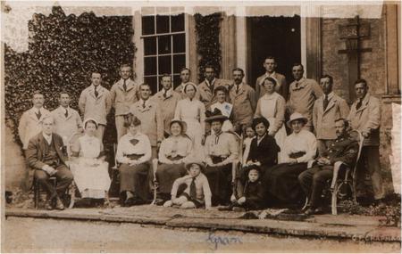 Hinwick House Relief Hospital 1916