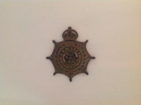 British military badge belonging to my grandmother
