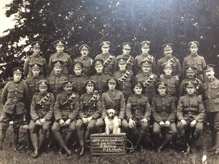 Unit photo A subsection, B battery, 1st AA brigade