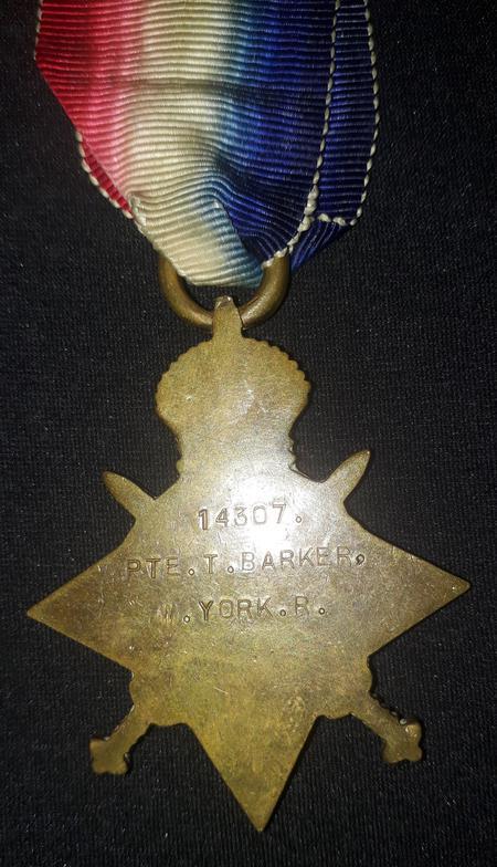 1915 Star Medal