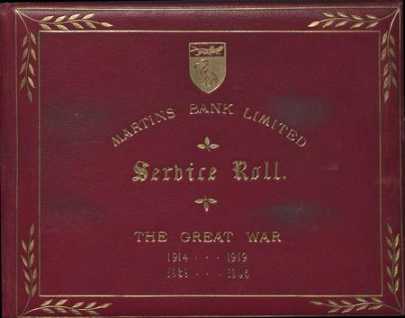 Service Roll of Martins Bank - Cover