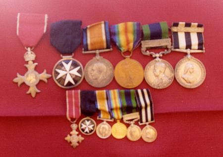 Edward James Rose's Medals