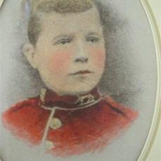 Martin Arthur, Bandsboy in the Gordon Highlanders