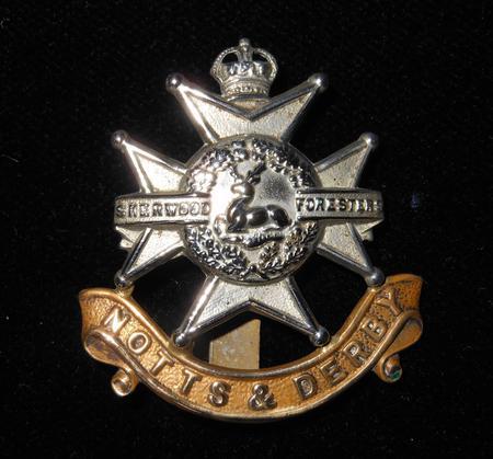 Pte George Stoakes - Regiment Cap Badge