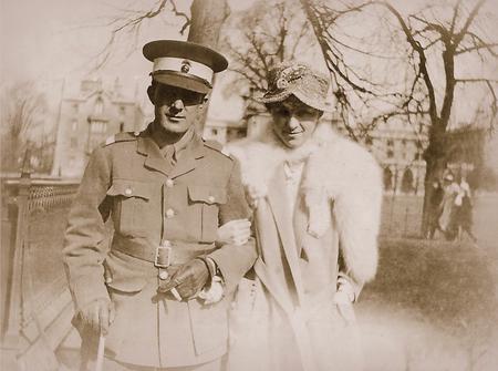 Oscar & Marie, Cambridge March 1917