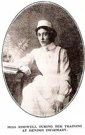 Nurse Mary Rodwell