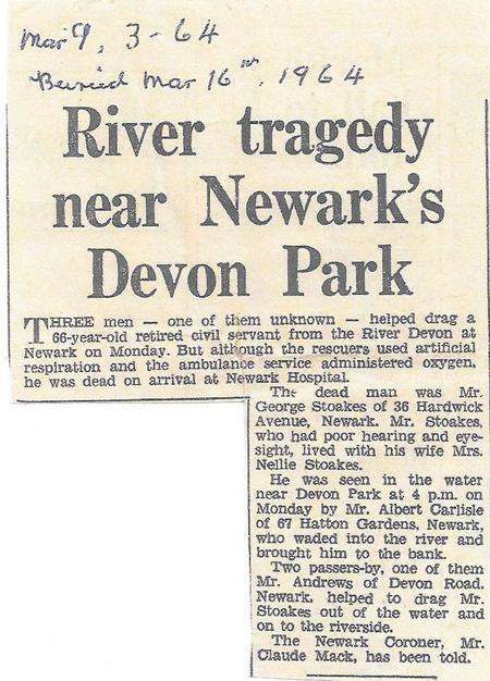 George Stoakes drowns in River Devon