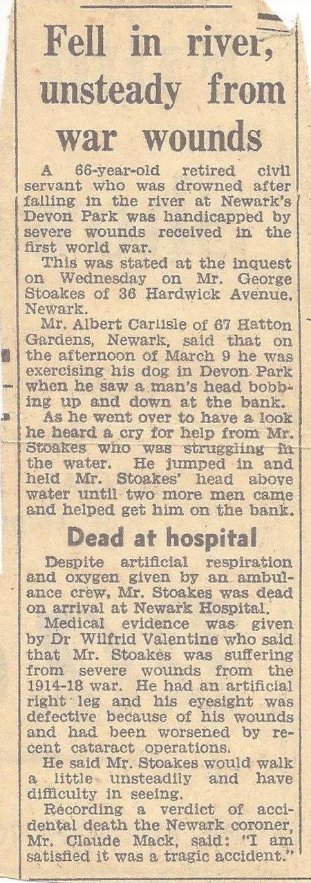 Inquest into the death of George Stoakes