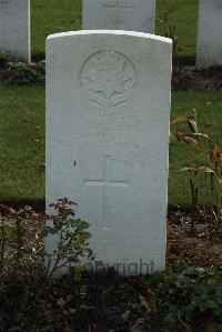 Louis Taylor's WW1 Grave - Loos, France