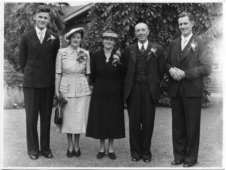 Edward james Rose and family 1950