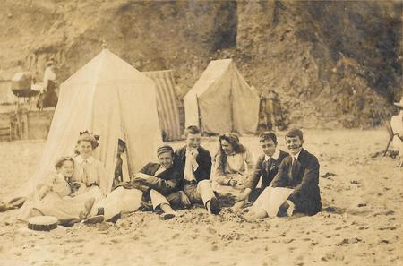 Schooldays, Hornsea, Yorkshire 1903.