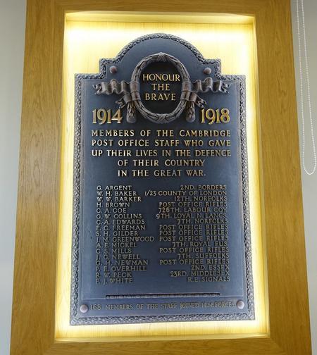 Post Office War Memorial