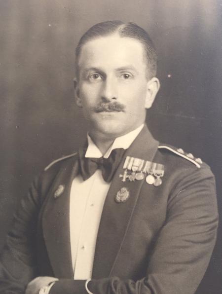 Post war photo of Harry Pratt Sparks