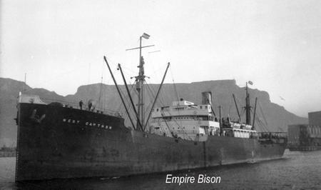 SS West Cawthon/Empire Bison