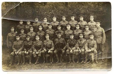 16th Battalion KRRC - Leicester Boys