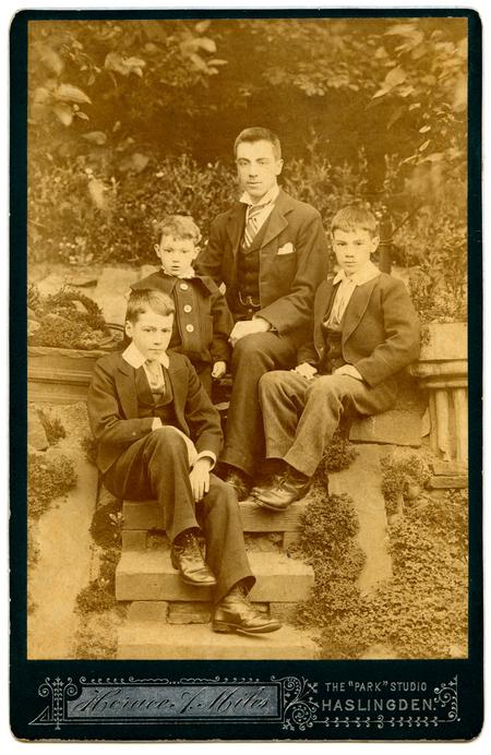 The Four Spencer Brothers about 1896