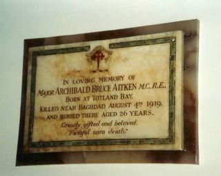 Profile picture for Archibald Bruce Aitken