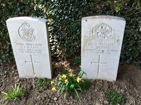 Forceville cemetery France