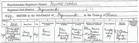 Birth Certificate - Summary