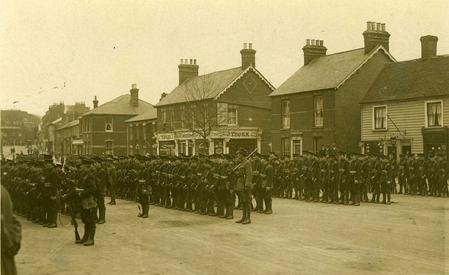 On parade in Rayleigh 2