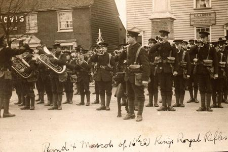 On parade in Rayleigh 3
