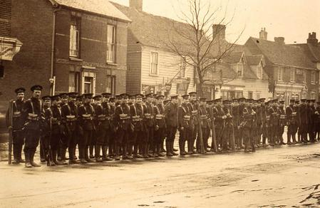 On parade in Rayleigh 4