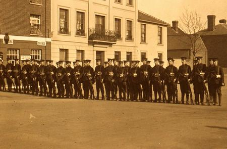 On parade in Rayleigh 6