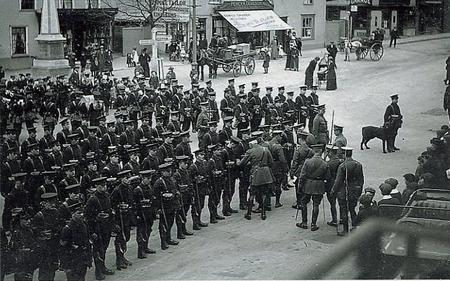 On parade in Rayleigh 7