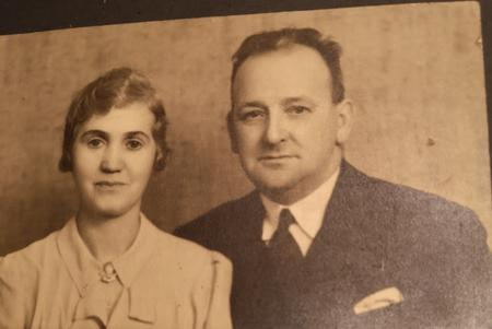 Mr. and Mrs. George Prior.
