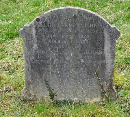 Memorial on His Father's Grave at Chacewater