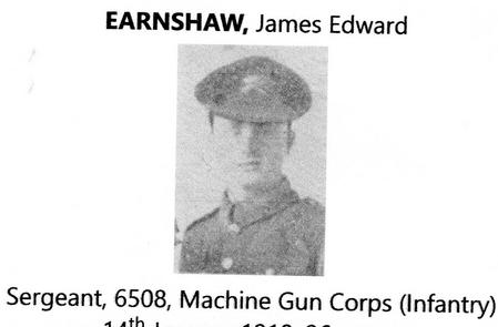Profile picture for James E Earnshaw