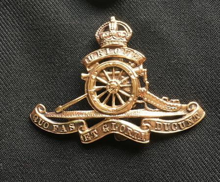 Alfred's Cap Badge