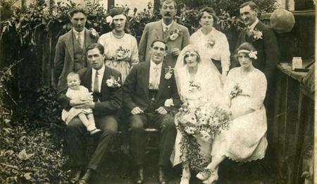 Alfred and Lilian's Wedding