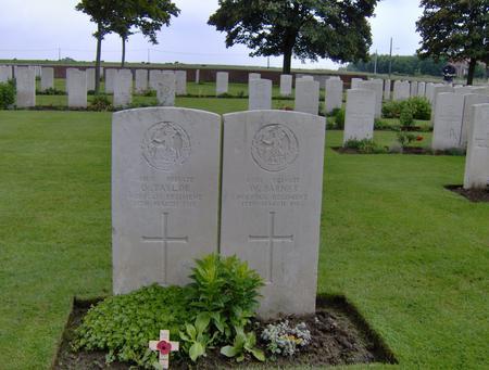 Arthur Oswald Taylor's headstone
