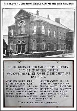 Middleton Junction Wesleyan Methodist Church