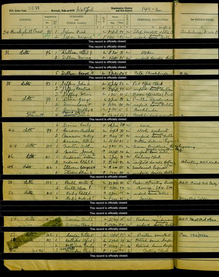1939 Register