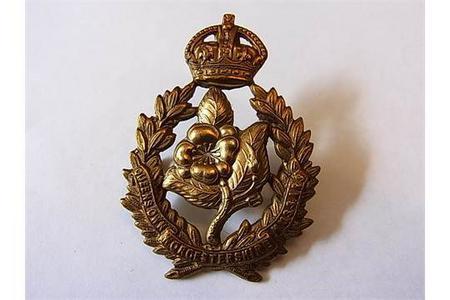Worcestershire Yeomanry Cap badge