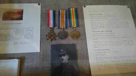 Kipling's medals